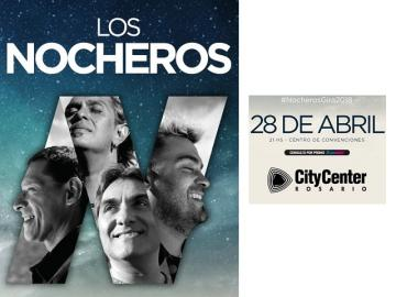 Argentina: Los Nocheros regresan a City Center Rosario