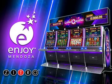 Casino Enjoy instala el video slot Link King en su sala