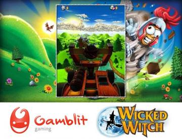 Gamblit Gaming se une Wicked Witch Software