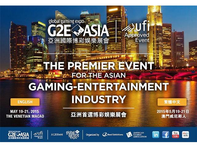 Global Gaming Expo (G2E) Asia 2015