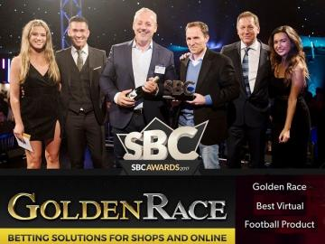 Golden Race, nuevamente galardonado en los SBC Awards