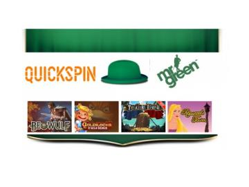 Quickspin proveerá juegos a Mr. Green