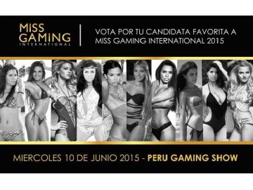 Se inició votación web para Miss Gaming International 2015