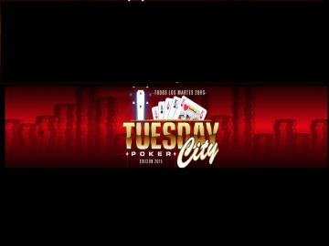 "Se jugó otra edición del ""Tuesday Poker City"""