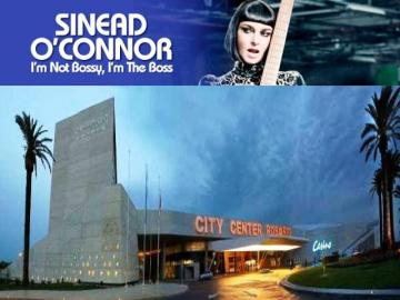 Sinéad O'Connor en City Center Rosario